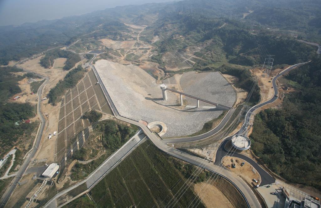 寶山第二水庫土壩工程